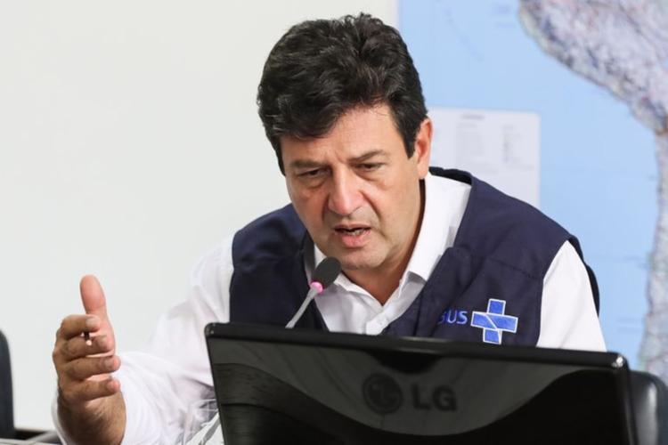 Ministro não quer aceitar medidas de isolamento propostas por Bolsonaro - Foto: Isac Nóbrega | PR