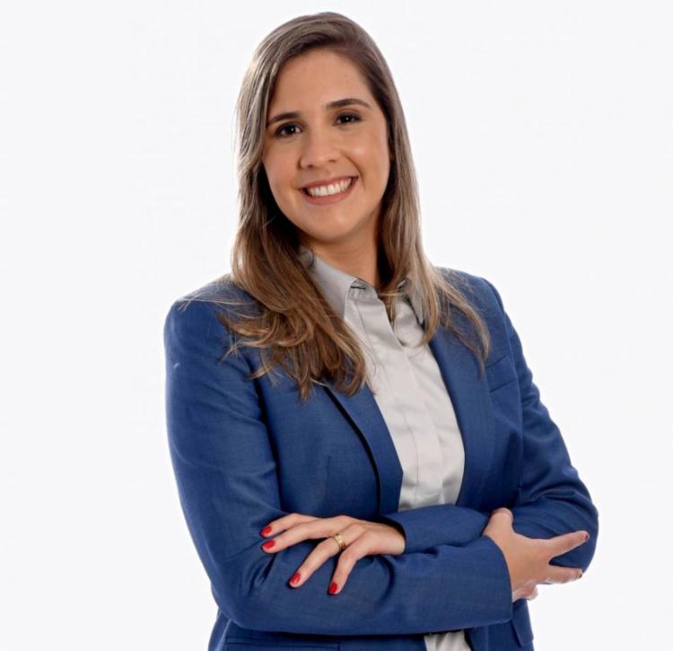 No último sábado, 7, a jornalista se tornou a primeira mulher a narrar um jogo da Copa do Nordeste | Foto: Divulgação | Fox Sports - Foto: Divulgação | Fox Sports