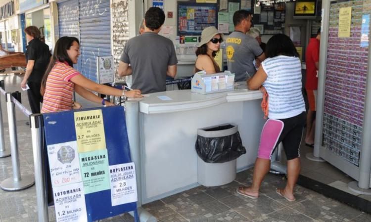 Valor para quem acertar as 6 dezenas é o menor registrado neste ano | Foto: Wilson Dias | Agência Brasil - Foto: Wilson Dias | Agência Brasil