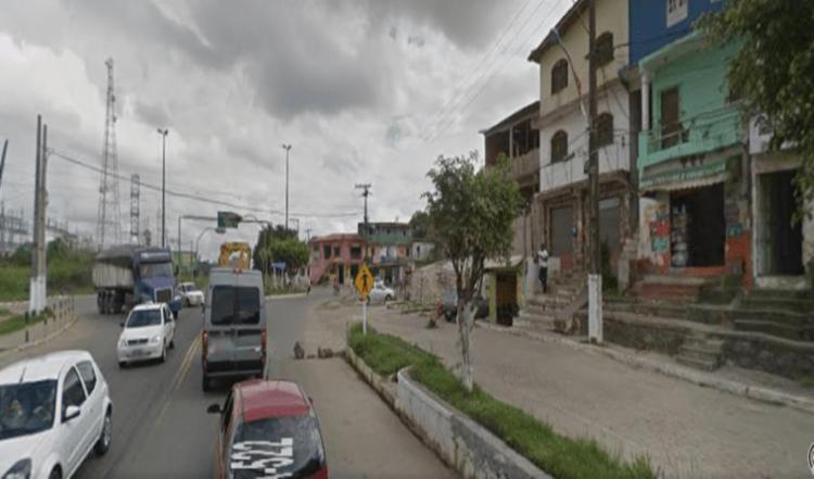 Crime foi registrado na noite de terça-feira   Foto: Reprodução   Google Street View - Foto: Reprodução   Google Street View