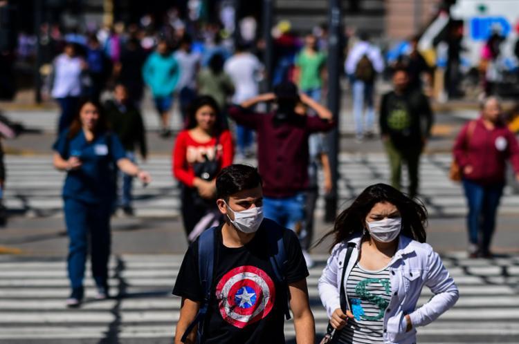 O país tem 128 infectados e três mortos | Foto: Ronaldo Schemidt | AFP - Foto: Ronaldo Schemidt | AFP