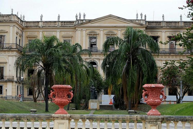 A expectativa é entregar, em 2022, toda a restauração das fachadas, da cobertura e dos jardins   Foto: Tania Rego   Agencia Brasil - Foto: Foto: Tania Rego   Agencia Brasil