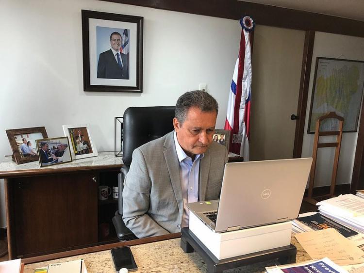 O pedido foi enviado pelo governador baiano e presidente do consórcio, Rui Costa | Foto: Divulgação | Secom GOV - Foto: Divulgação | Secom GOV