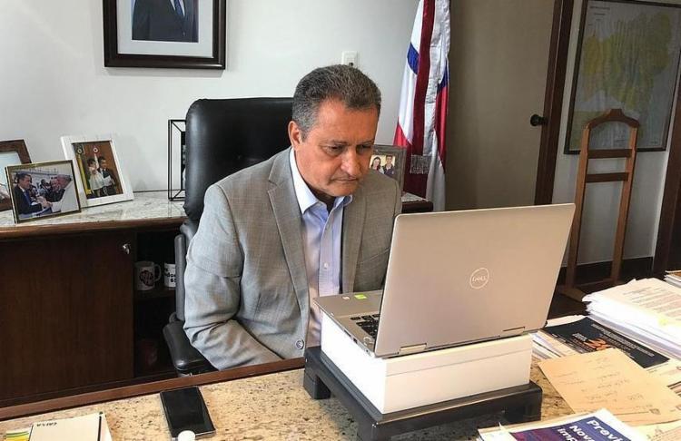 Os anúncios foram feitos em live nas redes sociais do governador   Foto: Divulgação   Secom GOV - Foto: Divulgação   Secom GOV