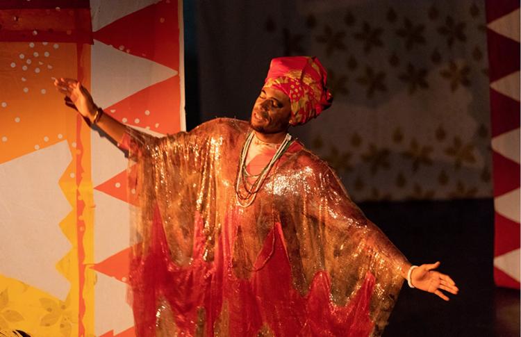 Espetáculo conta a história de amor entre um negro banto e uma negra nagô | Foto: Divulgação - Foto: Divulgação