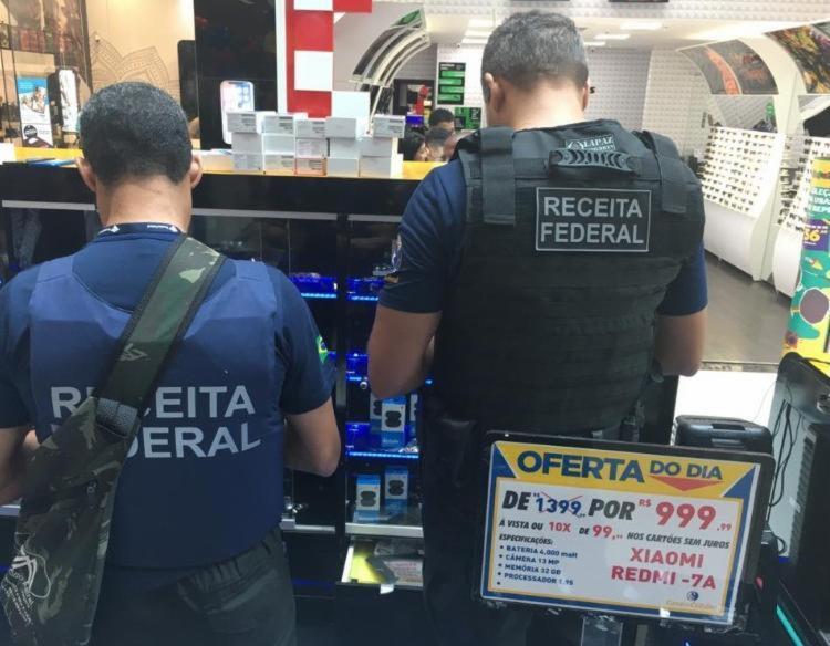 Ação também aconteceu em Vitória da Conquista, Recife e Fortaleza | Foto: Divulgação | Receita Federal - Foto: Divulgação | Receita Federal