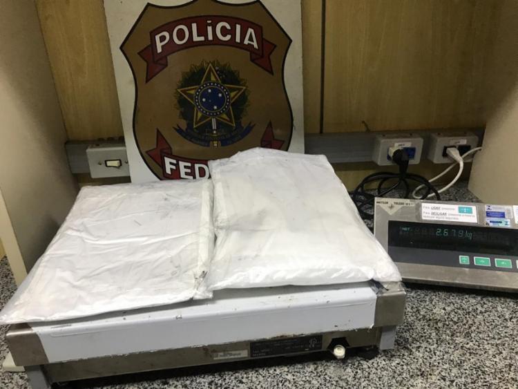 O grupo tentava transportar cocaína para outros países | Foto: Divulgação | Polícia Federal - Foto: Divulgação | Polícia Federal
