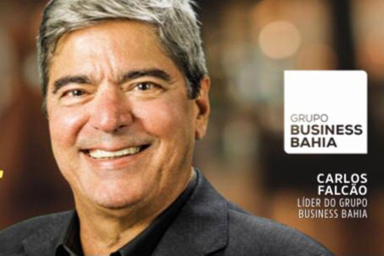 Carlos Sérgio Falcão é o líder do Grupo Business Bahia | Foto: Reprodução | Grupo Business Bahia - Foto: Reprodução | Grupo Business Bahia
