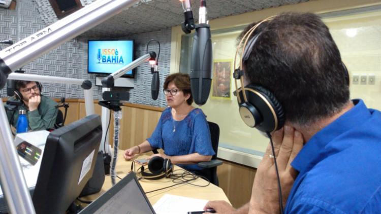 Maria Rita foi contou no programa 'Isso é Bahia' sobre os problemas enfrentados pela Osid   Foto: Rafael Martins   Ag. A TARDE - Foto: Rafael Martins   Ag. A TARDE