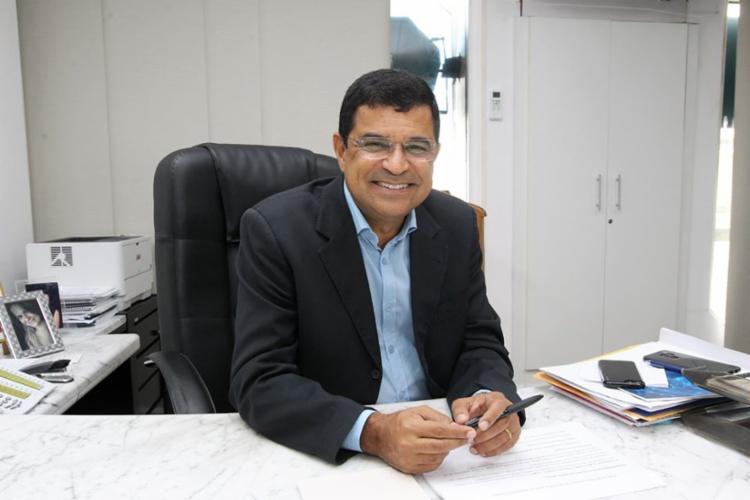Davidson Magalhães é presidente do PCdoB-Bahia e secretário do Trabalho, Emprego, Renda e Esporte   Foto: Yago Matheus   Divulgação - Foto: Yago Matheus   Divulgação