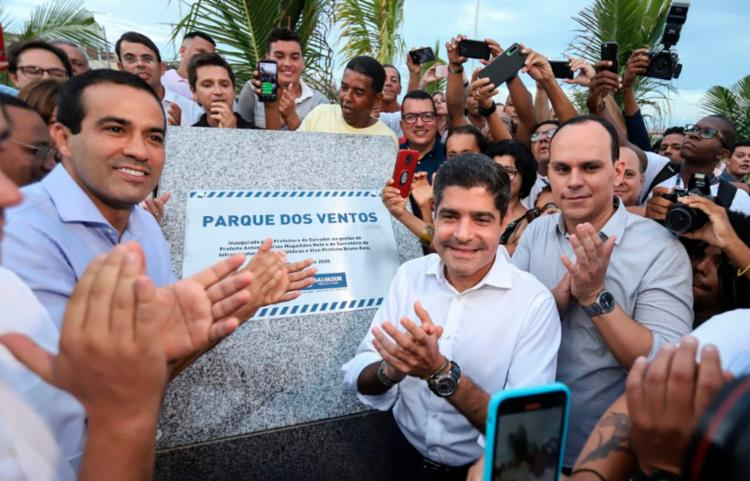 Inauguração contou com presença do prefeito ACM Neto e outras autoridades | Foto: Uendel Galter | Ag. A TARDE