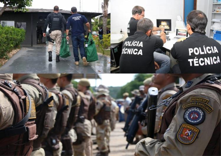 Cerca de 13 mil policiais, entre militares, civis e técnicos receberão 12,7 milhões de reais | Foto: Divulgação | SSP - Foto: Divulgação | SSP