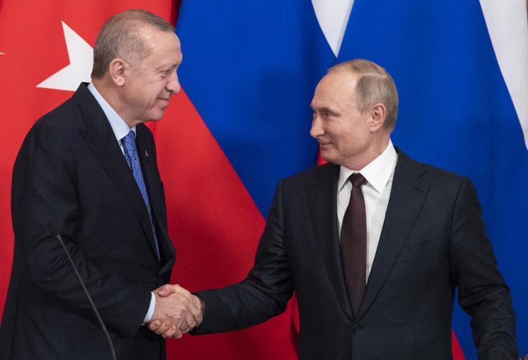 O acordo foi selado em Moscou pelos presidentes da Rússia, Vladimir Putin, e Turquia, Recep Tayyip Erdogan | Foto: Pavel Golovkin | AFP - Foto: Pavel Golovkin | AFP