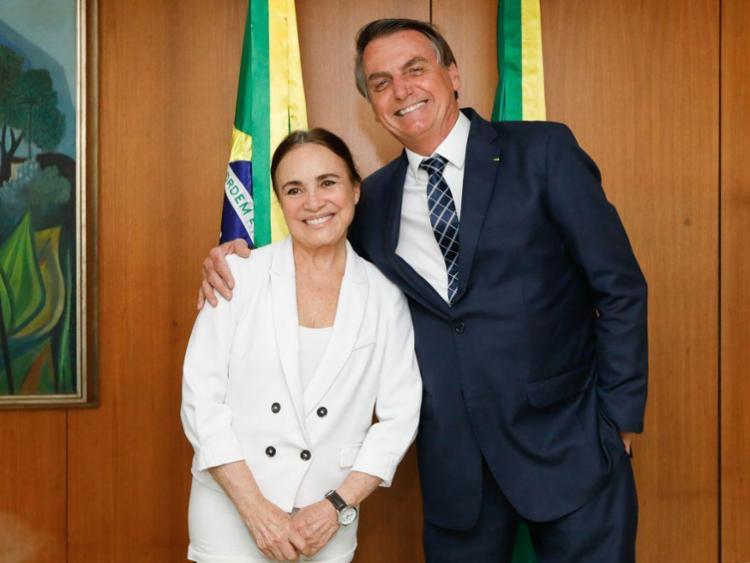 Regina Duarte tomou posse na Secretaria da Cultura no dia 4 de março, após convite do presidente Jair Bolsonaro | Foto: Carolina Antunes | PR - Foto: Carolina Antunes | PR