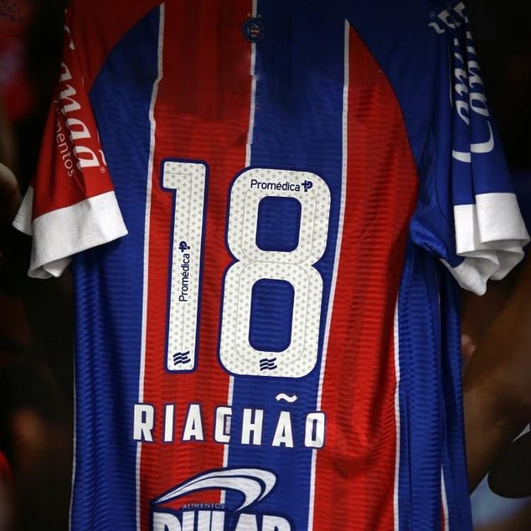 Bahia lançou camisa com nome de Riachão em 2018 | Foto: Divulgação