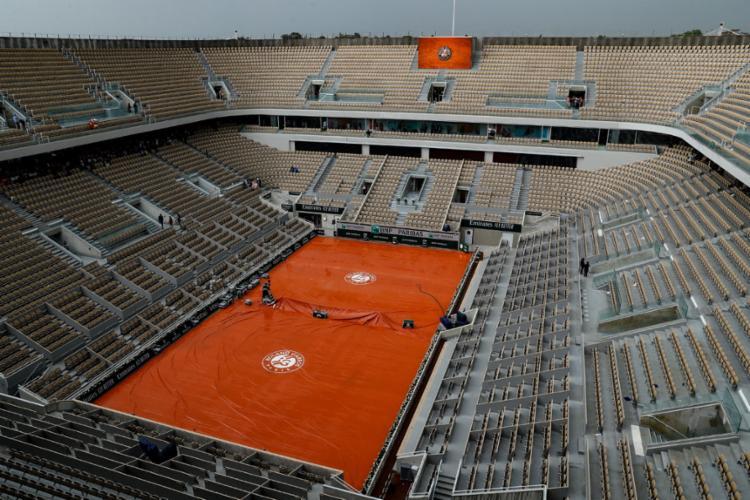 O Grand Slam francês é o último torneio da ATP que valia pontos para a qualificação de tenistas com pretensões a vagas olímpicas em Tóquio 2020   Foto: Thomas Samson   AFP - Foto: Thomas Samson   AFP