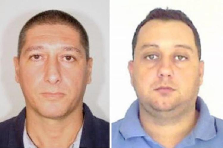 Lessa (à esq.) e Queiroz (à dir.) estão presos na penitenciária de segurança máxima de Porto Velho (RO   Foto: Reprodução. - Foto: Reprodução