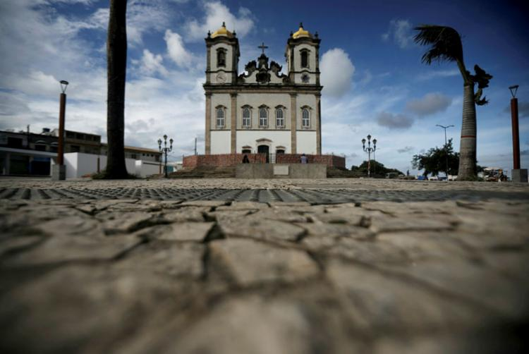 Igreja do Bonfim, um dos principais símbolos de Salvador | Foto: Felipe Iruatã | Ag. A TARDE - Foto: Felipe Iruatã | Ag. A TARDE