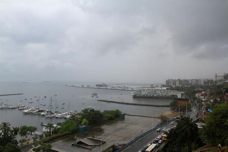 Salvador vai sendo atingida por chuvas desde o último final de semana   Foto: Rafael Martins   Ag. A TARDE - Foto: Rafael Martins   Ag. A TARDE