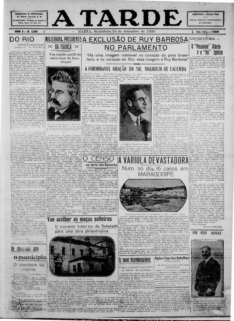 Edição de 24 de setembro de 1919