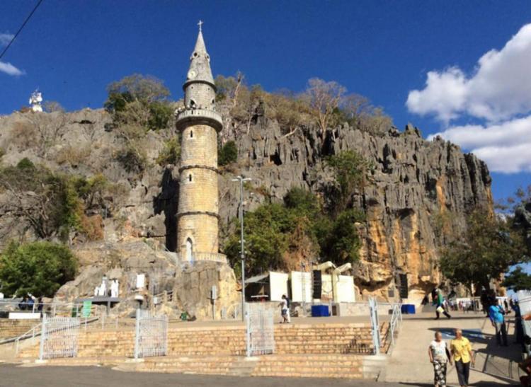 Santuário de Bom Jesus: parado após mais de 300 anos   Divulgação - Foto: Divulgação