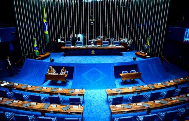 Medida foi tomada para restringir o fluxo de pessoas na Casa   Foto: Wilson Dias   Agência Brasil - Foto: Wilson Dias   Agência Brasil