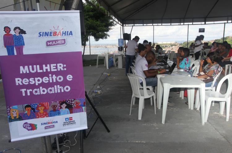 A atividade marca o início das comemorações do Março Mulher | Foto: Alberto Coutinho | GOVBA - Foto: Alberto Coutinho | GOVBA