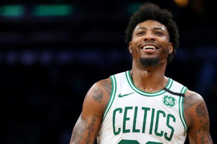 O atleta dos Celtics foi um dos 15 casos confirmados de contágio do Covid-19 na maior organização de basquete do mundo   Foto: Maddie Meyer   AFP - Foto: Maddie Meyer   AFP