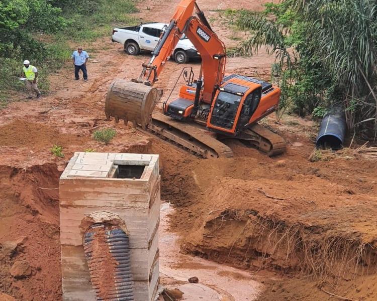 De acordo com a Embasa, conclusão do serviço está previsto para próxima segunda-feira, 16 | Foto: Divulgação | Embasa - Foto: Divulgação | Embasa