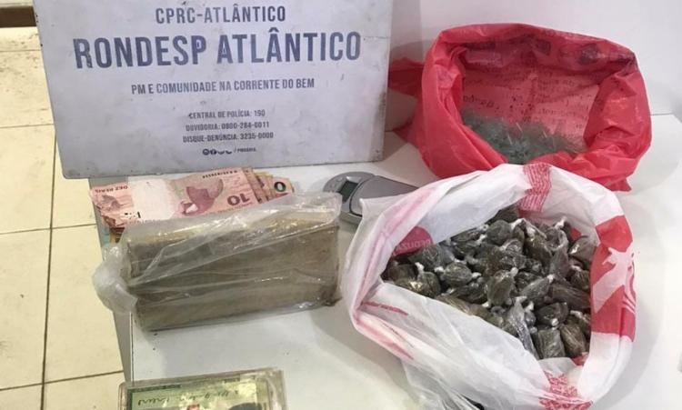 Drogas estavam prontas para serem comercializadas | Foto: Divulgação | SSP - Foto: Divulgação | SSP