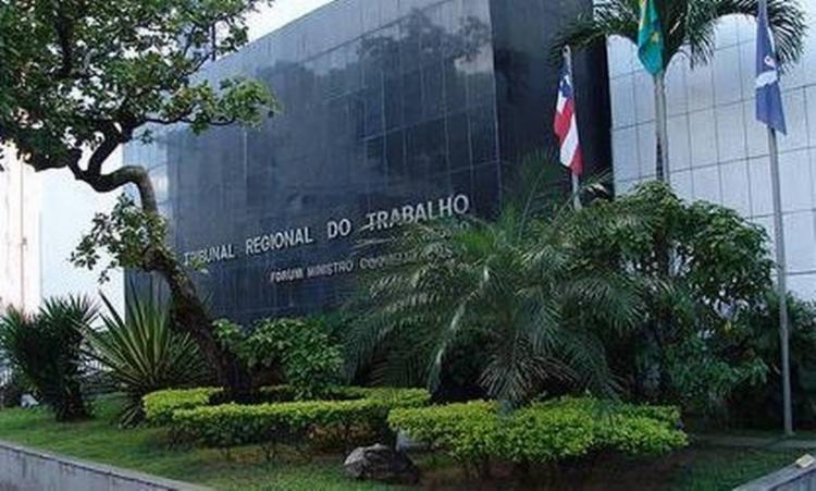 TRT baiano manteve expediente interno | Foto: Divulgação - Foto: Divulgação