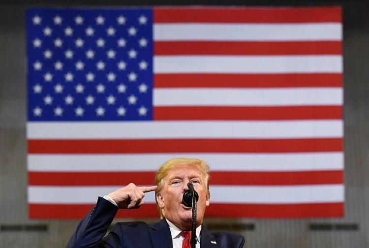 Trump teve contato com o chefe da Secom,Fábio Wajngarten | Foto: Mandel Ngan | AFP - Foto: Mandel Ngan | AFP