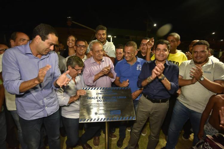Cerimônia contou com a presença do prefeito ACM Neto e do vice Bruno Reis | Foto: Divulgação | Secom - Foto: Divulgação | Secom