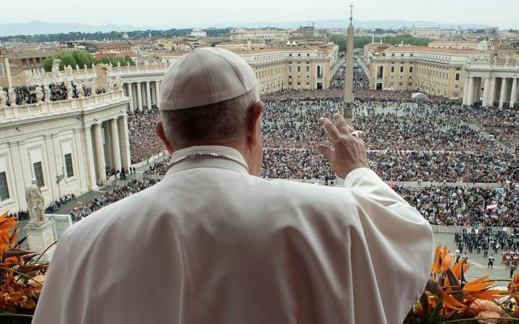 O objetivo da decisão é evitar a disseminação do novo coronavírus Foto: Reprodução | Vaticano via AFP - Foto: Reprodução | Vaticano via AFP