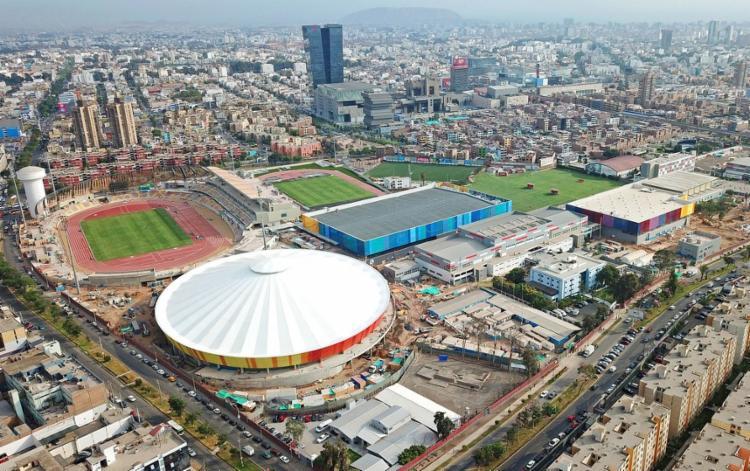 A 'Villa' é a maior obra civil construída para os Jogos Pan-Americanos e os Parapan-Americanos em Lima, em 2019 | Foto: Divulgação | Pan-americano 2019 - Foto: Divulgação | Pan-americano 2019