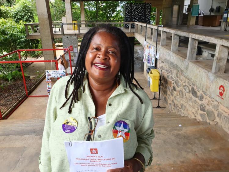 Com programa de governo em mãos, Vilma diz que fica na disputa até o fim | Foto: Divulgação - Foto: Foto: Divulgação