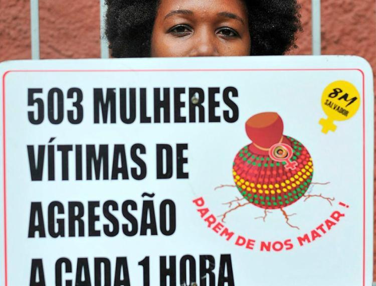 De 2009 a 2017, o número de mulheres negras vítimas de estupro aumentou quase dez vezes | Foto: Felipe Iruatã | Ag. A TARDE - Foto: Felipe Iruatã | Ag. A TARDE
