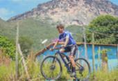 Atleta de mountain bike, Ulan Bastos volta ao lar para cumprir quarenena | Foto:
