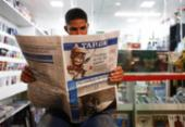 No Dia do Jornalista, o lado bom do corona: fake news perderam | Foto: Laryssa Machada | Ag. A TARDE | 31.3.2020