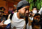 Ronaldinho Gaúcho sai da prisão e permanecerá em hotel no Paraguai | Foto: Norberto Duarte | AFP