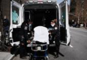 Mortos em um dia nos EUA têm novo recorde: 884 | Spencer Platt | AFP
