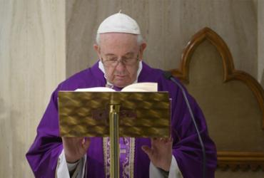 Papa mantém a 'esperança de um tempo melhor' | AFP