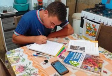Estudantes quilombolas de Campo Formoso mantêm estudos conectados às redes sociais