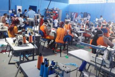 Conjunto Penal de Itabuna intensifica fabricação de máscaras