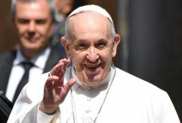 Papa Francisco agradece o trabalho da imprensa | Alberto Pizzoli | AFP