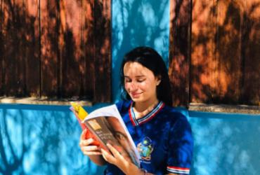Estudantes de Rio de Contas socializam momentos de leitura via aplicativo de videoconferência