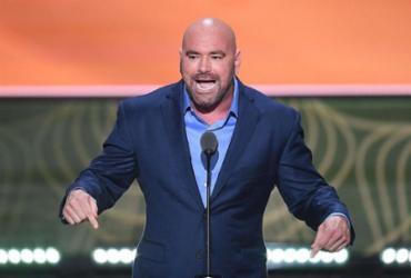 Dana promete retorno do UFC a partir de 18 de abril em ilha particular | Jim Watson | AFP