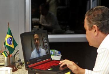 Rui Costa faz videoconferência com prefeitos presidentes de Consórcios de Saúde
