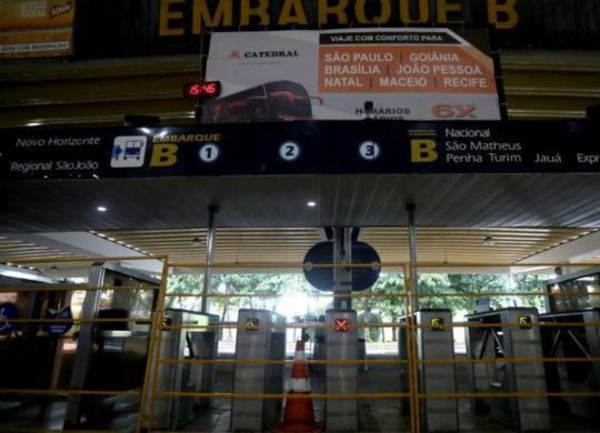 Mais sete municípios baianos têm transporte intermunicipal suspenso para conter coronavírus | Felipe Iruatã | Ag. A TARDE