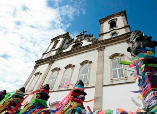 Cortejo com imagem do Senhor do Bonfim vai percorrer bairros de Salvador nesta sexta   Reprodução